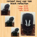 Maxi Cosi Tobi Black Reflection