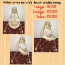 Fisher Price Nature Touch Cradle Swing
