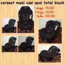 Maxi Cosi Opal Total Black