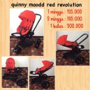 Quinny Moodd Red Revolution