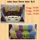 Coby Haus Fence Bear 8+2