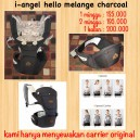 I-Angel Hello Melange Charcoal