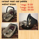Maxi Cosi Pebble Walnut Brown
