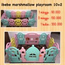Ibebe Marshmallow Playroom 10+2