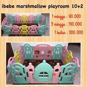 Ibebe Marshmallow Playroom 10+2 Unit 1