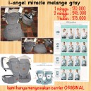 I Angel Miracle Melange Grey