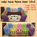 Coby Haus Fence Bear 10+2