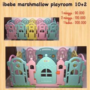 Ibebe Marshmallow Playroom 10+2 Unit 2