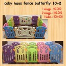 Coby Haus Fence Butterfly 10+2