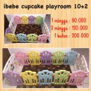Ibebe Cupcake Playroom 10+2 Unit 2