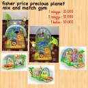 Fisher Price Precious Planet Mix and Match Gym