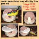 Mamas Papas Baby Snug with Play Tray Pale Pink