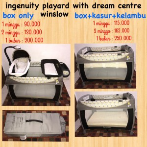 Ingenuity Playard with Dream Centre Winslow