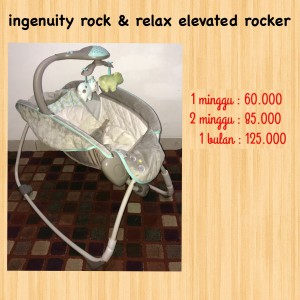 Ingenuity Rock & Relax Elevated Rocker