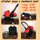 Yoya + Newborn Nest