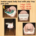Mamas Papas Baby Bud with Play Tray Pale Pink