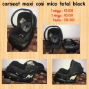 Maxi Cosi Mico Total Black