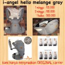 I-Angel Hello Melange Gray