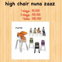 High Chair Nuna Zaaz