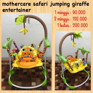 Mothercare Safari Jumping Giraffe Entertainer