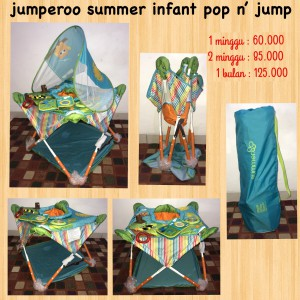 Summer Infant Jumperoo Pop N' Jump