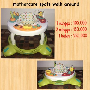 Mothercare Spots Walk Around