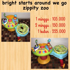 Bright Starts Around We Go Zippity Zoo Unit 2