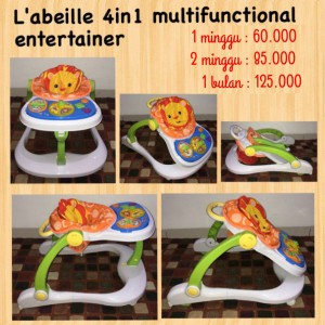 L'abeille 4in1 Multifunctional Entertainer