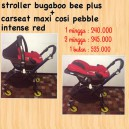 Bugaboo Bee Plus + Maxi Cosi Pebble