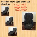 Maxi Cosi Priori XP Phantom